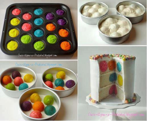 DIY Polkadot Cake Recipe