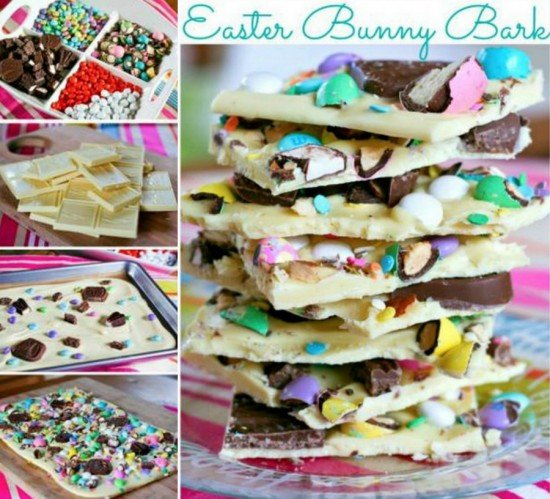 DIY Easter Marshmallow Bark