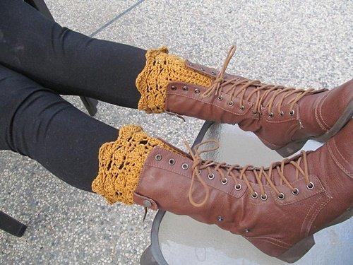 DIY Crochet Boot Cuffs Free Crochet Patterns - Belmont Boot Toppers Free Pattern