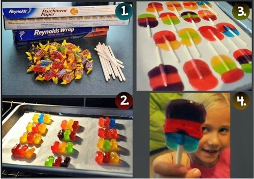 Fab Art DIY Homemade Jolly Rancher Lollipops2