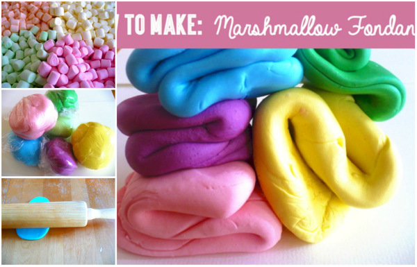 How to make Homemade Marshmallow Fondant Recipe