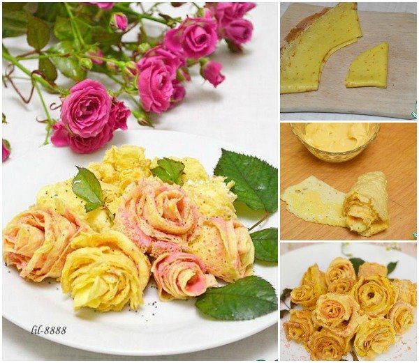 FabArtDIY Beautiful Pancake Rose Tutorial