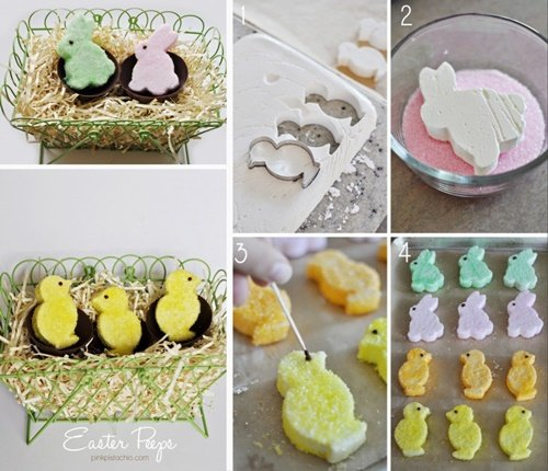 Fab Art DIY Easter Peep Cakes and Desserts