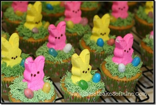 FabArtDIY Easter Peep Cakes and Desserts7