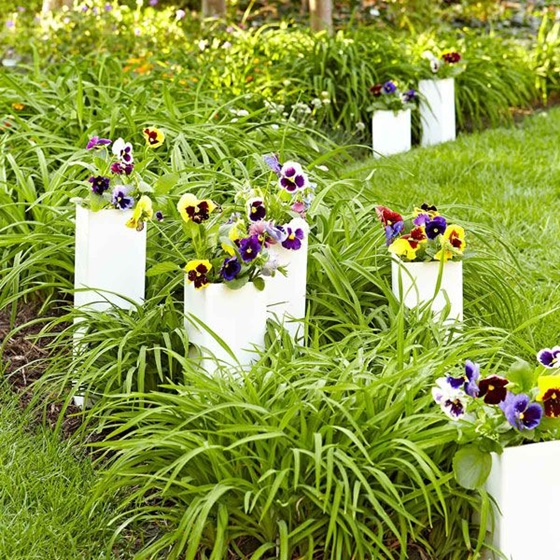 Planter Garden Ideas Diy pvc gardening ideas and projects fabartdiy pvc gardening ideas and projects pvc sleeve planters workwithnaturefo