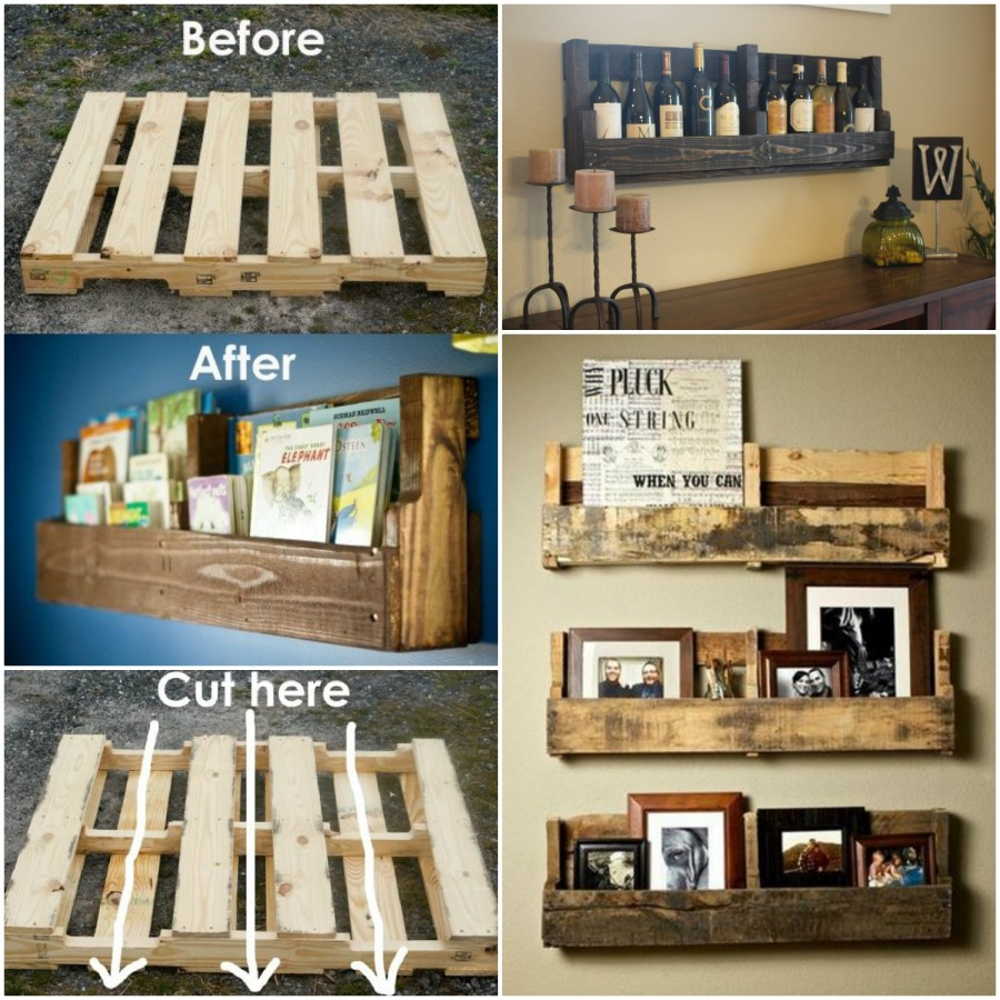 Diy pallet home furniture projects Pallet ideas
