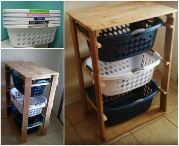 DIY Pallet Home Decorating and Furniture Projects and Tutorials