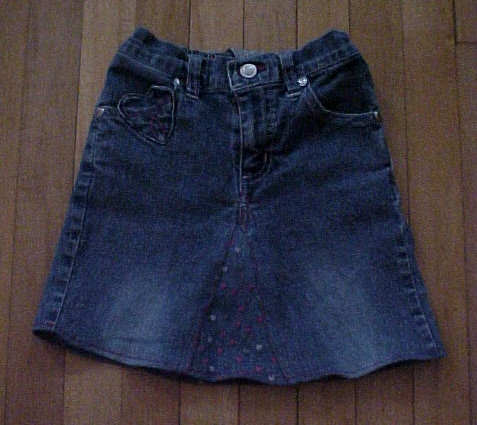 FabArtDIY Ways To Rejuvenate Your Old Jeans Denim -jean skirt