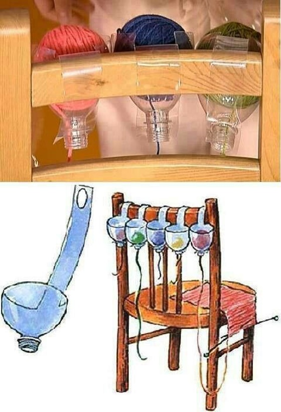 FabArtDIY Yarn holder Ideas and Projects 6