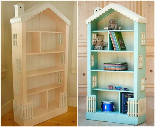 How To Diy Doll House Book Case1