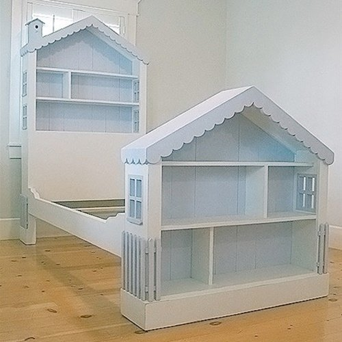 How to DIY Doll House Book Case2