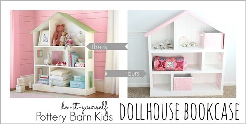 How to DIY Doll House Bookcase