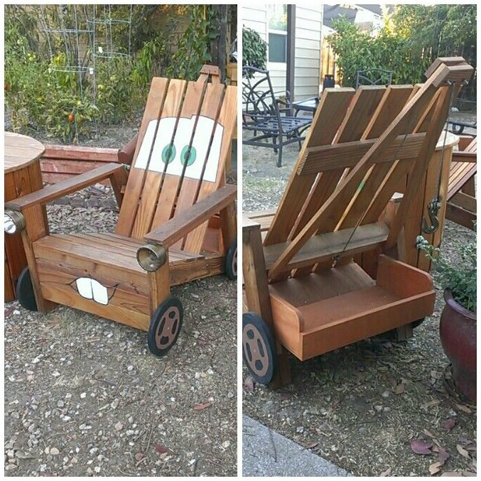 Incroyable ... How To DIY Tow Mater Chair