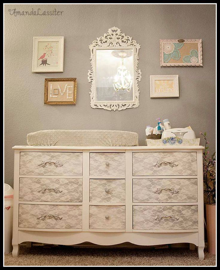 DIY Lace Painted Furniture WwwFabArtDIYcom
