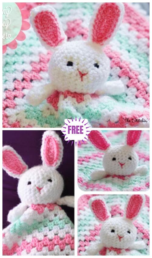Crochet Bunny Lovey Free Crochet Pattern
