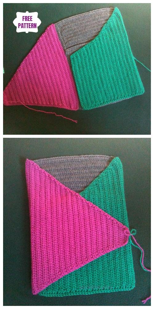 CrochetThe Baby Cozy Cocoon Free Crochet Pattern