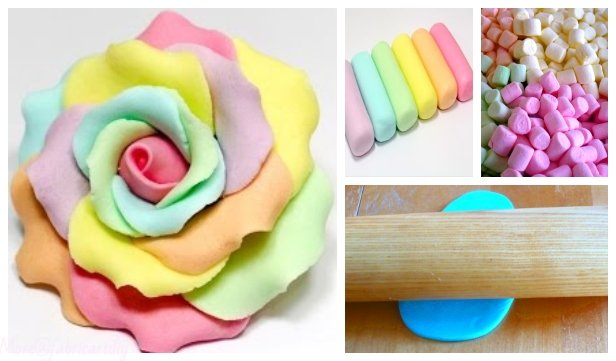 DIY Homemade Marshmallow Fondant Recipe (Video)