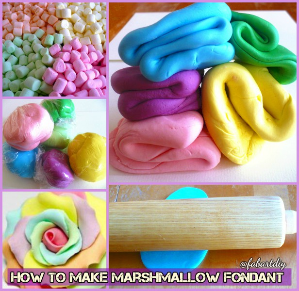 DIY Homemade Marshmallow Fondant Recipe-video