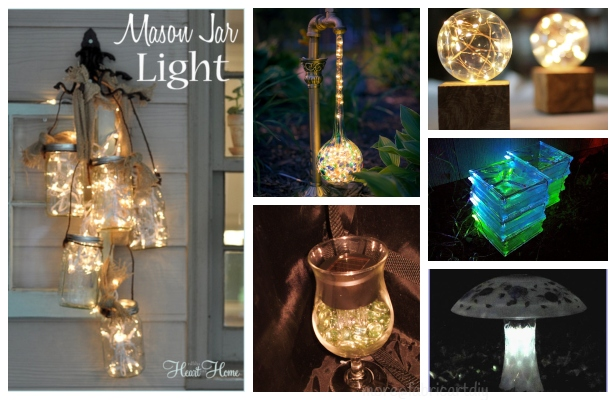 20+ DIY Stunning Outdoor Lighting Ideas for Summer Night