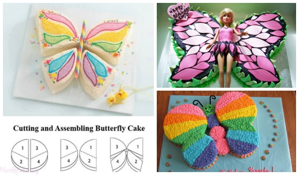 Fabulous Butterfly Cake Design DIY Tutorials