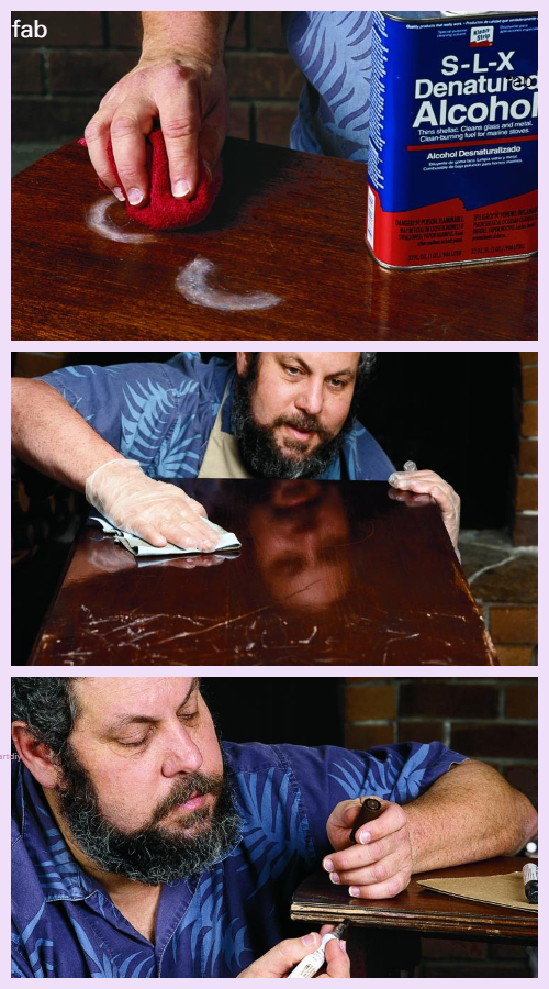 How To Magically Repair Furniture Finish