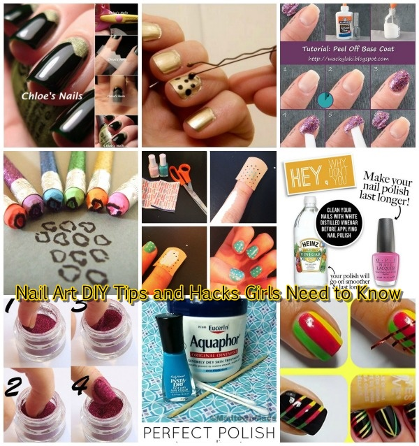 fabartdiy Nail Art DIY Hacks that Every Girl Needs to Know