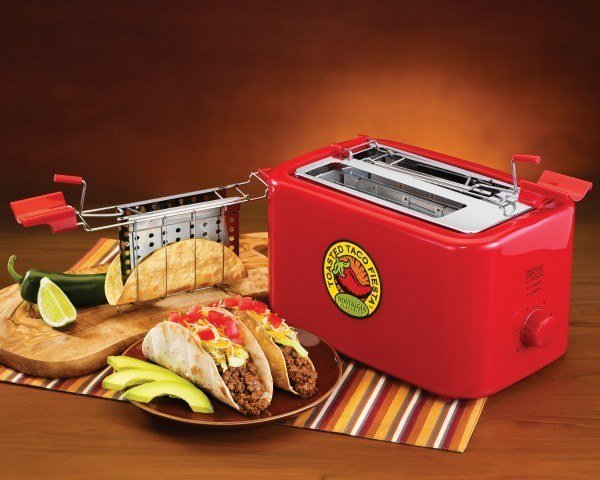 25+ Cool and Practical Kitchen Gadgets For Food Lovers -Fiesta Series Taco Toaster