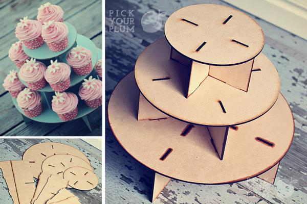 DIY Couture Cupcake Stand