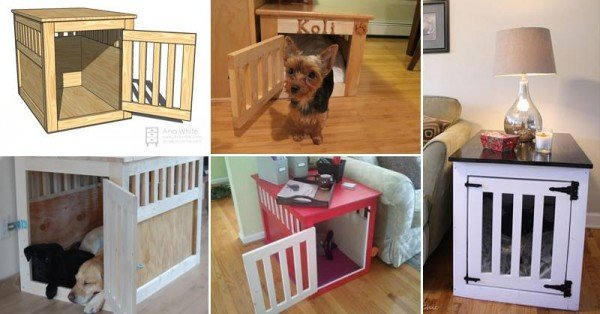 DIY Dog House Projects and Tutorials