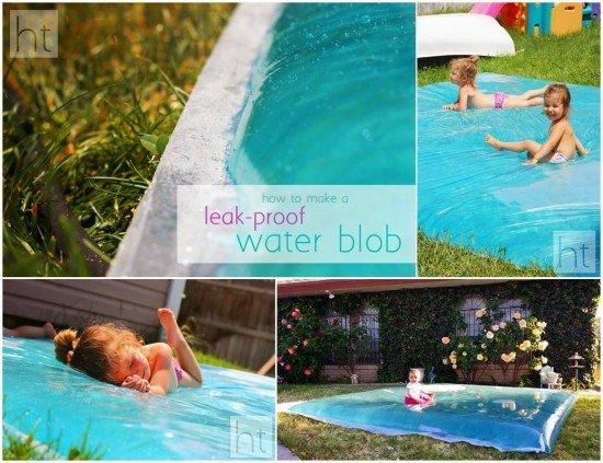 DIY Leak Proof Water Blob for Outdoor Summer Fun