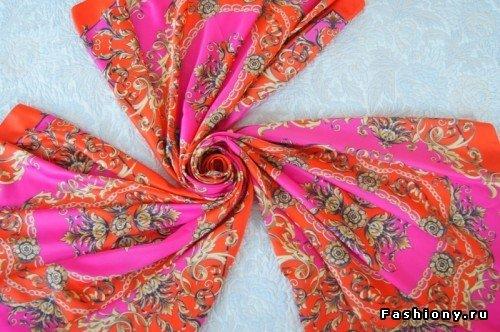 DIY Maxi Beach Dress from Silk Scarves