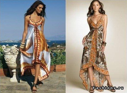DIY Maxi Beach Dress f...