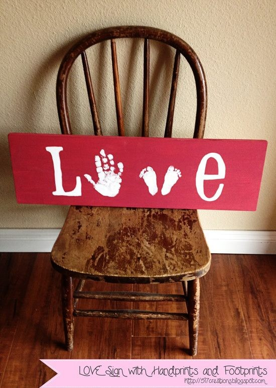 Hand & Footprint Art DIY Ideas and Projects6