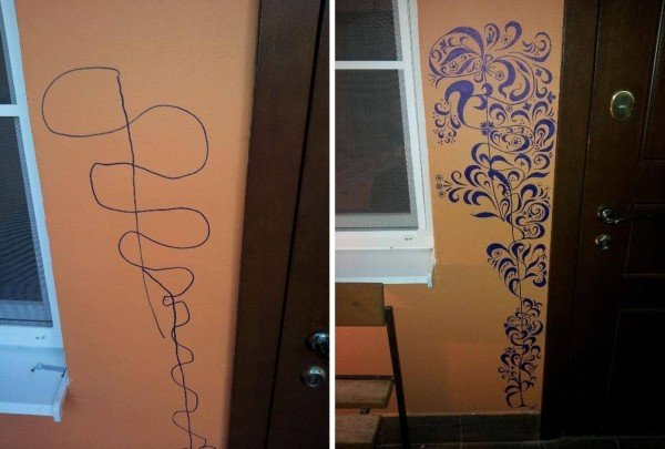 Turn your Toddler Scribble into Wall Art