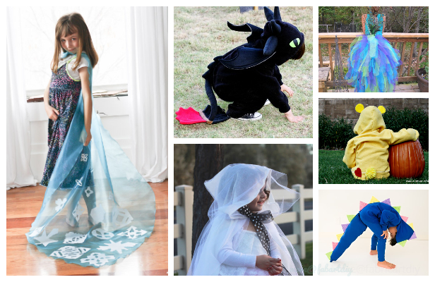 20+ DIY Halloween Costume Tutorials for All Ages