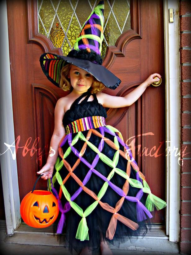 Шьем платье ведьмы своими руками