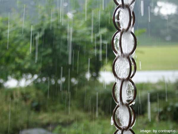 10+ DIY Rain Chain Project Tutorials You Won't Miss - copper rain chain tutorial with video