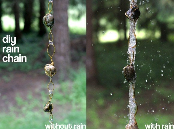 10+ DIY Rain Chain Project Tutorials You Won't Miss
