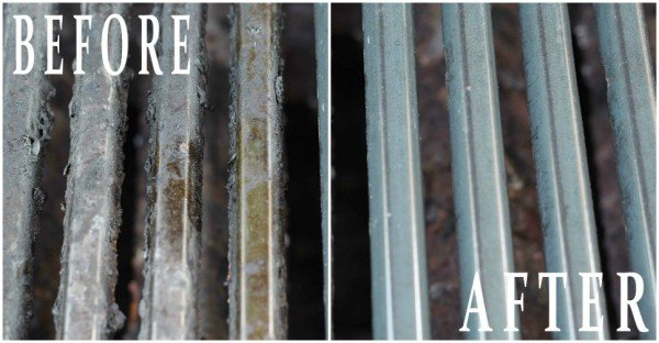 20+ Amazing Cleaning Tips that Save Time and Work 10 - How To Clean A Grill The Magic Way