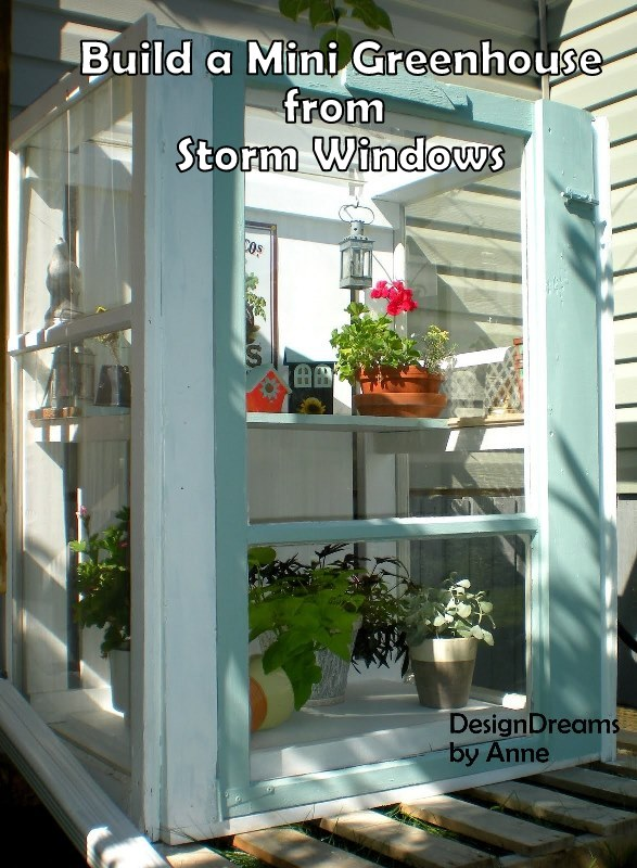 20 Fabulous Ways to Repurpose Old Windows -Turn Old Windows Into Green House