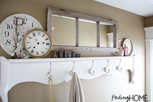 20 Fabulous Ways to Repurpose Old Windows -Turn Old Windows Into Mirror