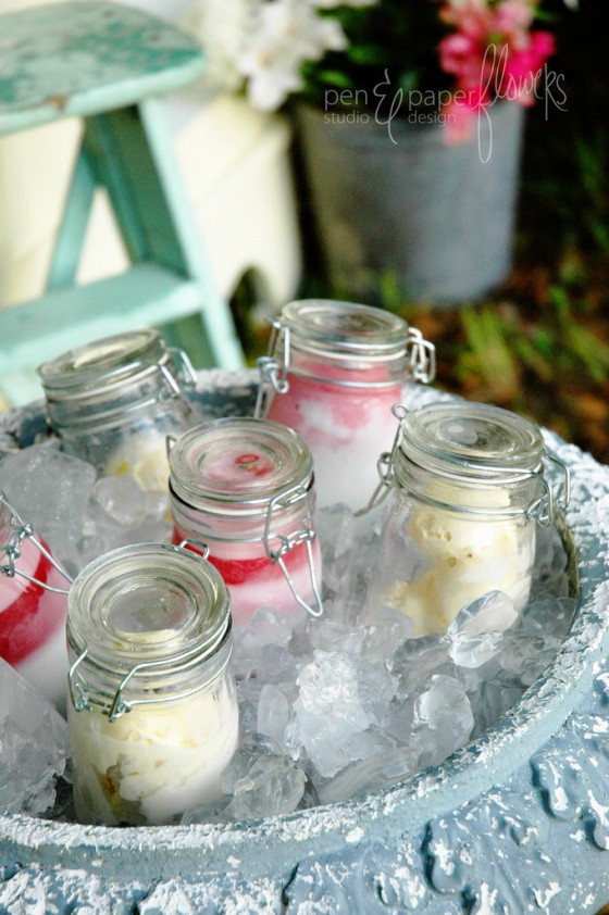 20 Outdoor Party Hacks You've Got To Try This Summer - preserve icecream in a jar
