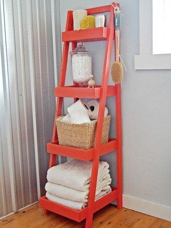 50+ Home Storage Solutions & Ideas Storage-Ladder