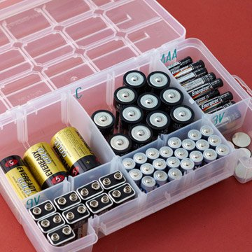 50+ Home Storage Solutions & Ideas batteries