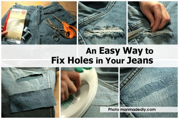 How to Fix Holes in Your Jeans easily