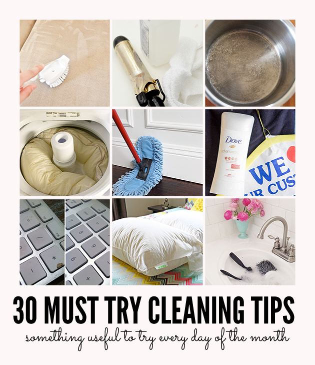 Useful Cleaning Tips for Every Day You Need to Try
