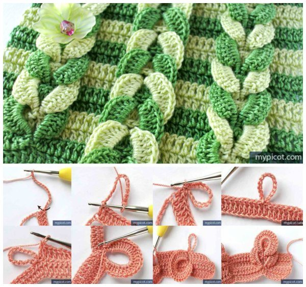Crochet Cable Stitch : How to DIY Crochet Cable Stitch (Free Pattern)