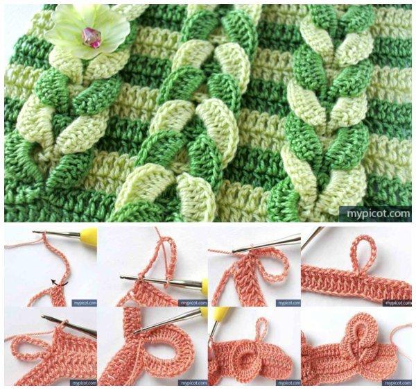 DIY CrochetWeaved Cable Stitch Free Crochet Pattern
