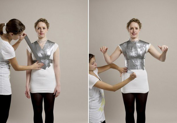 DIY How to Make Your Own Shape Sewing Mannequin