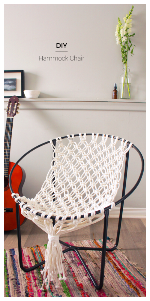 Diy Macrame Hammock Chair Swing Tutorial Video